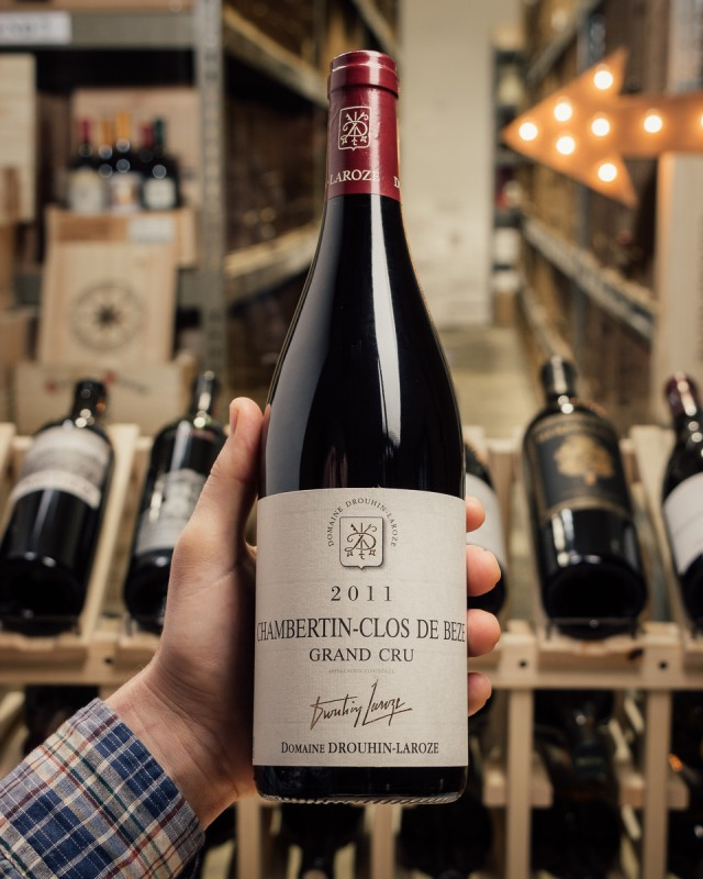 Domaine Drouhin-Laroze Chambertin Clos de Beze Grand Cru 2011  - First Bottle
