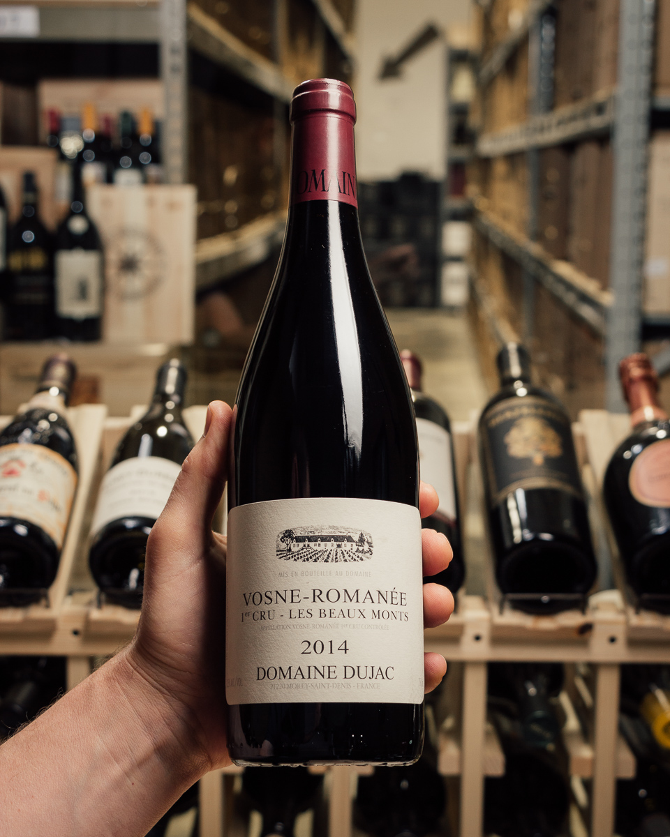 Domaine Dujac Vosne Romanee Les Beaumonts 1er Cru 2014  - First Bottle