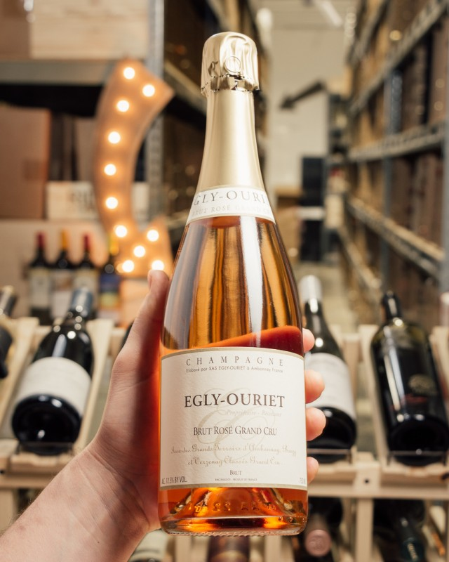 Domaine Egly-Ouriet Brut Rose Grand Cru NV  - First Bottle