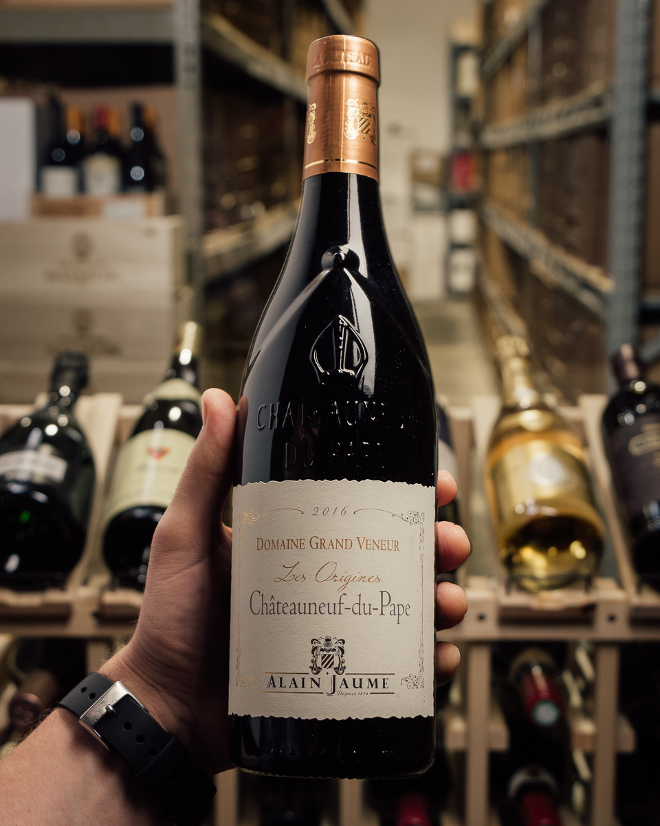 Domaine Grand Veneur Chateauneuf du Pape Cuvee les Origines 2016  - First Bottle