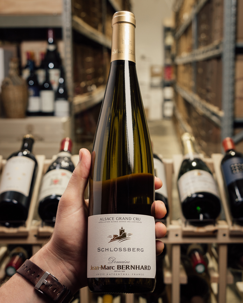Domaine Jean Marc Bernhard Riesling Schlossberg Grand Cru 2015  - First Bottle