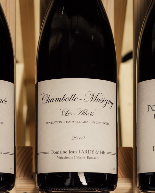 Domaine Jean Tardy Chambolle Musigny Athets 2010
