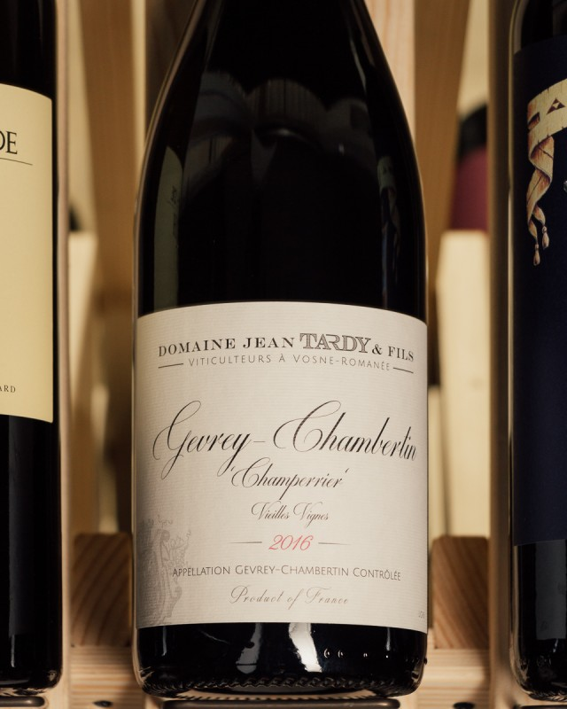 Domaine Jean Tardy Gevrey Chambertin Champerrier 2016