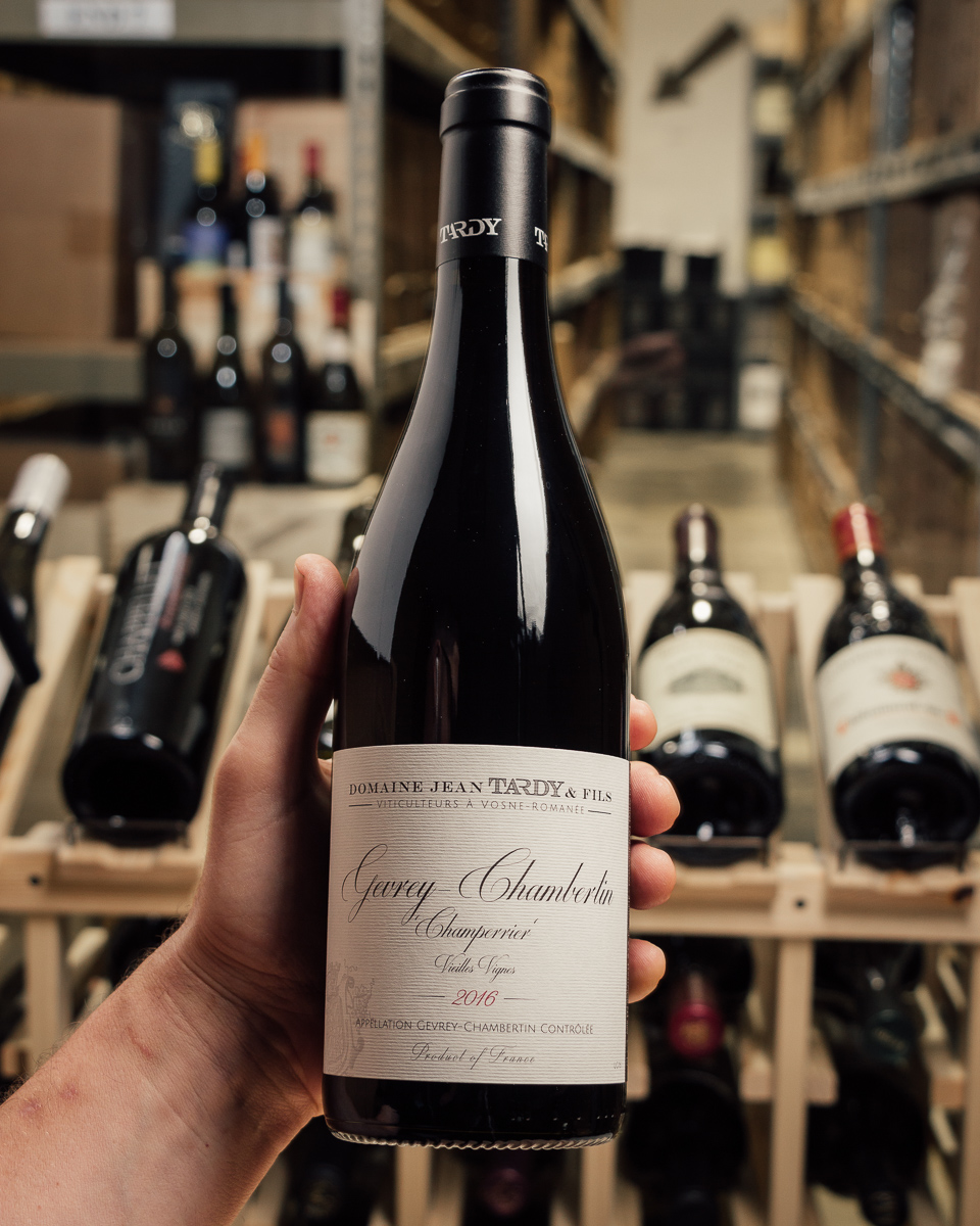 Domaine Jean Tardy Gevrey Chambertin Champerrier 2016  - First Bottle