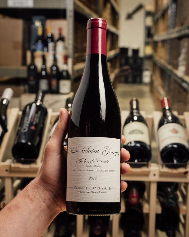 Domaine Jean Tardy Nuits Saint Georges Au bas de Combe 2014  - First Bottle