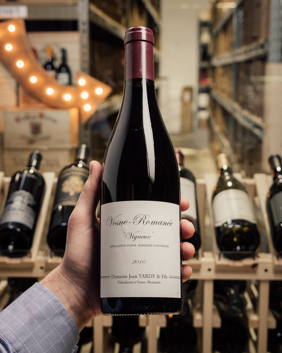 Domaine Jean Tardy Vosne Romanee Vigneux 2010  - First Bottle