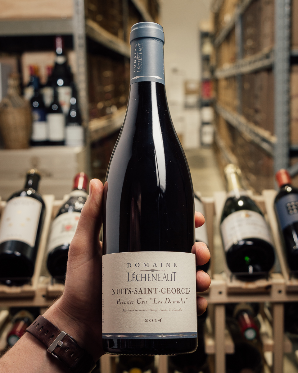 Domaine Lecheneaut Nuits St. Georges Les Damodes 1er Cru 2014  - First Bottle