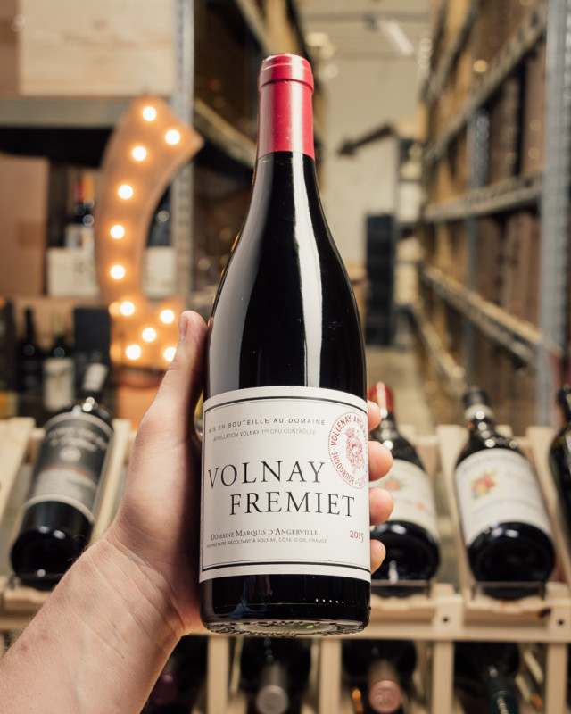Domaine Marquis d'Angerville Volnay Les Fremiets 2015  - First Bottle