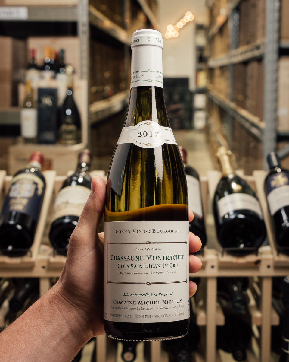 Domaine Michel Niellon Chassagne Montrachet Clos St. Jean 1er Cru 2017  - First Bottle