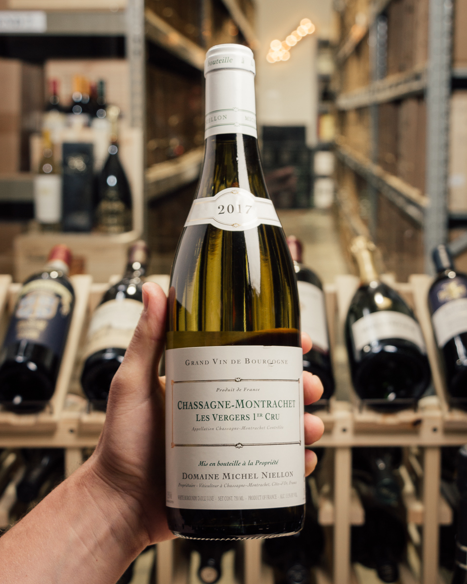 Domaine Michel Niellon Chassagne Montrachet Les Vergers 1er Cru 2017  - First Bottle