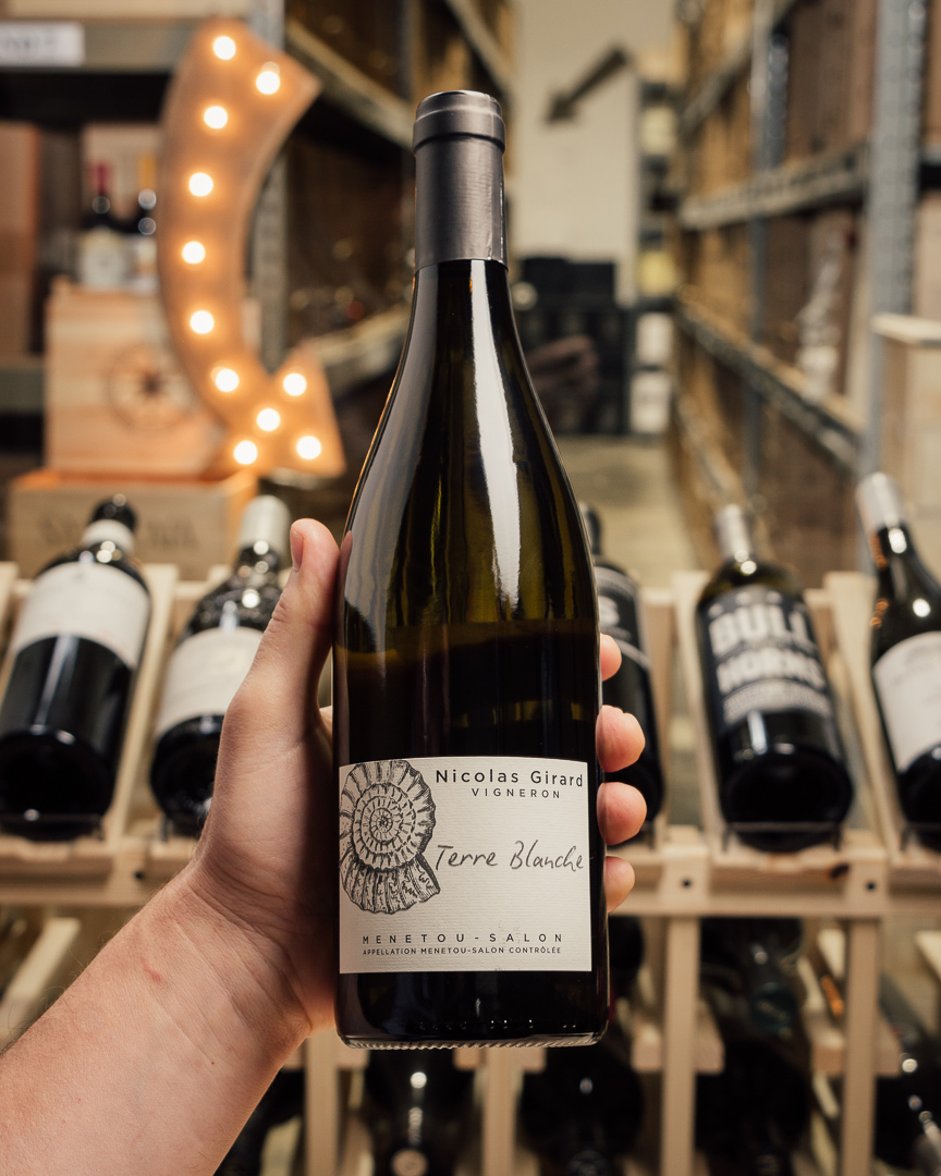 Domaine Nicolas Girard Menetou-Salon Blanc Terre Blanche 2018  - First Bottle