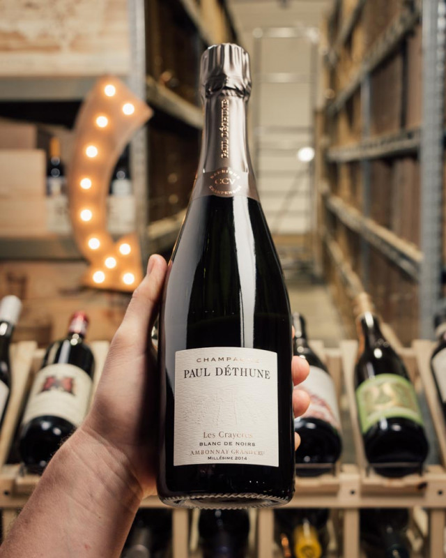 Domaine Paul Dethune Blanc de Noirs Les Crayeres Grand Cru 2014  - First Bottle