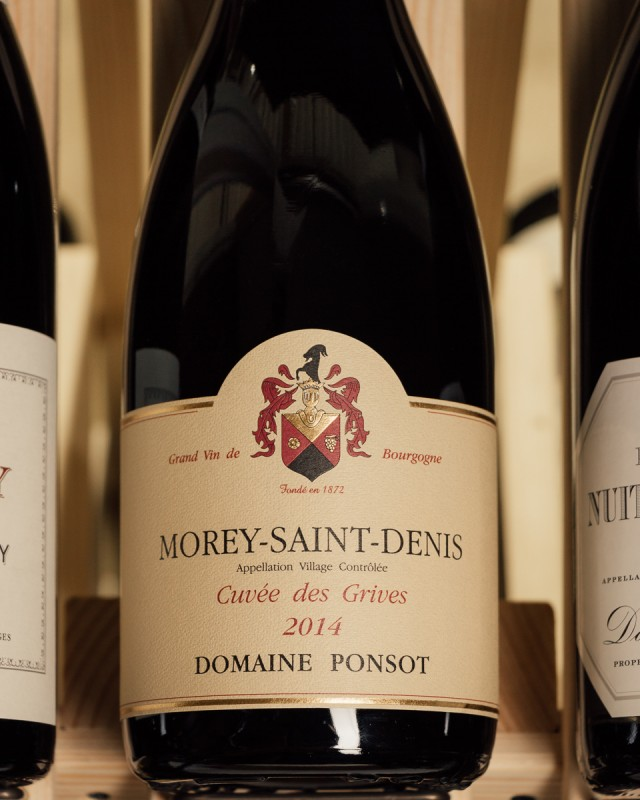 Domaine Ponsot Morey Saint Denis Cuvee Des Grives 2014  - First Bottle