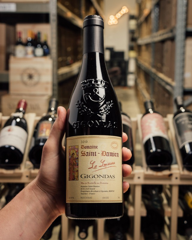 Domaine Saint-Damien Gigondas Cuvee La Louisiane VV 2016  - First Bottle