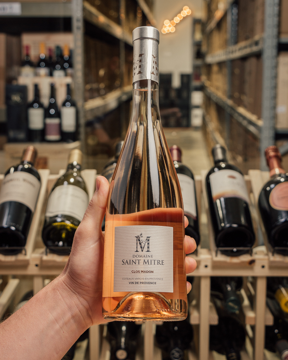Domaine Saint Mitre Rose Cuvee Clos Madon 2018  - First Bottle