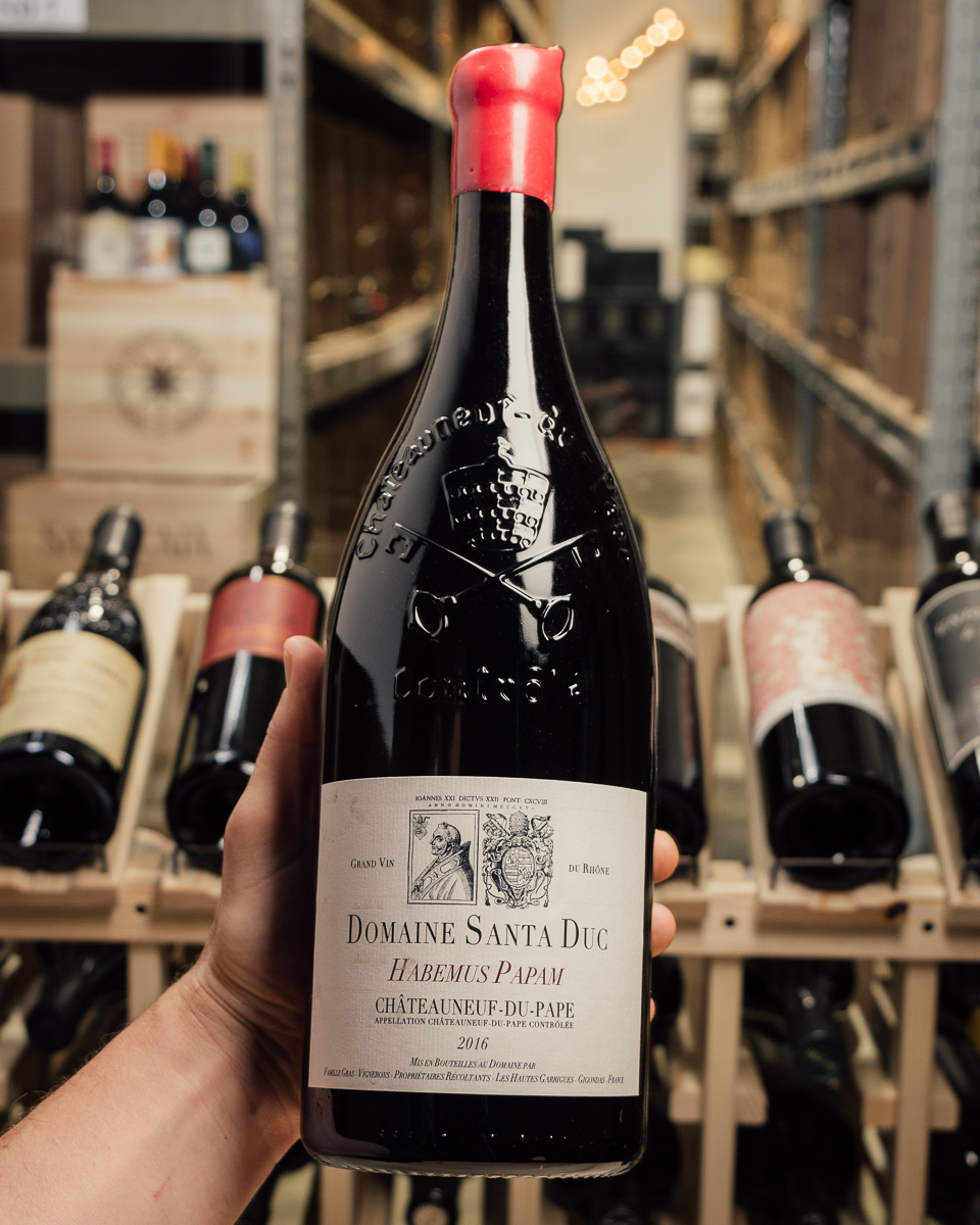 Domaine Santa Duc Habemus Papam Chateauneuf du Pape 2016 (1.5L)  - First Bottle