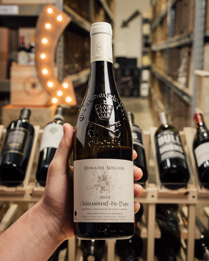 Domaine Serguier Chateauneuf du Pape Blanc 2018  - First Bottle