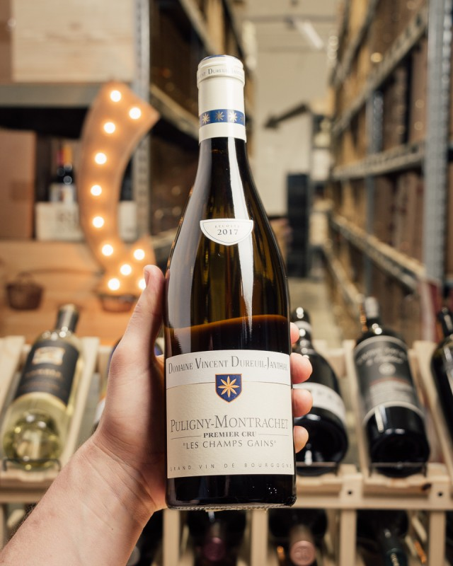 Domaine Vincent Dureuil-Janthial Puligny Montrachet Champs Gains 1er Cru 2017  - First Bottle