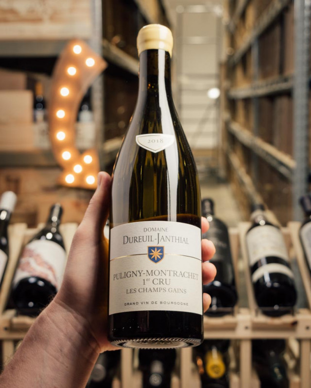 Domaine Vincent Dureuil-Janthial Puligny Montrachet Champs Gains 1er Cru 2018  - First Bottle