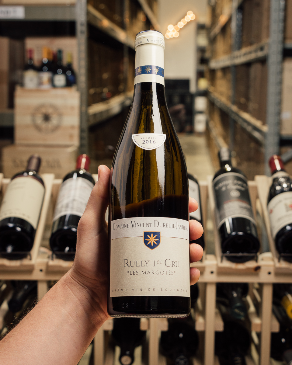 Domaine Vincent Dureuil-Janthial Rully Les Margotes 1er Cru 2016  - First Bottle