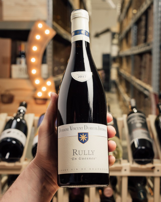 Domaine Vincent Dureuil-Janthial Rully Rouge En Guesnes 2017  - First Bottle