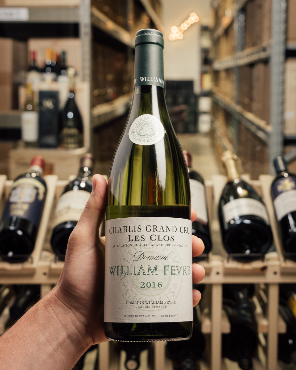 Domaine William Fevre Chablis Les Clos Grand Cru 2016  - First Bottle
