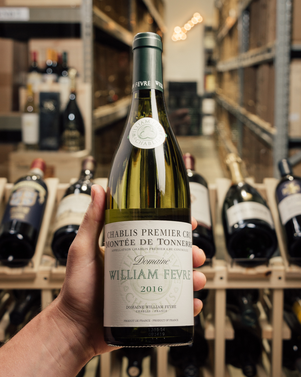 Domaine William Fevre Chablis Montee de Tonnerre 1er Cru 2016  - First Bottle