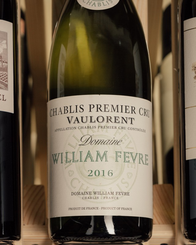Domaine William Fevre Chablis Vaulorent 1er Cru 2016