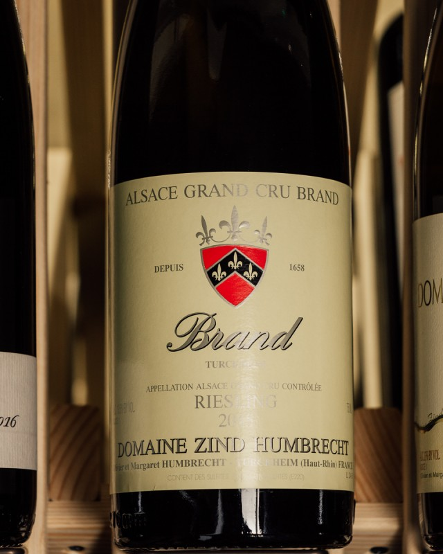Domaine Zind Humbrecht Riesling (Dry) Brand Grand Cru 2015