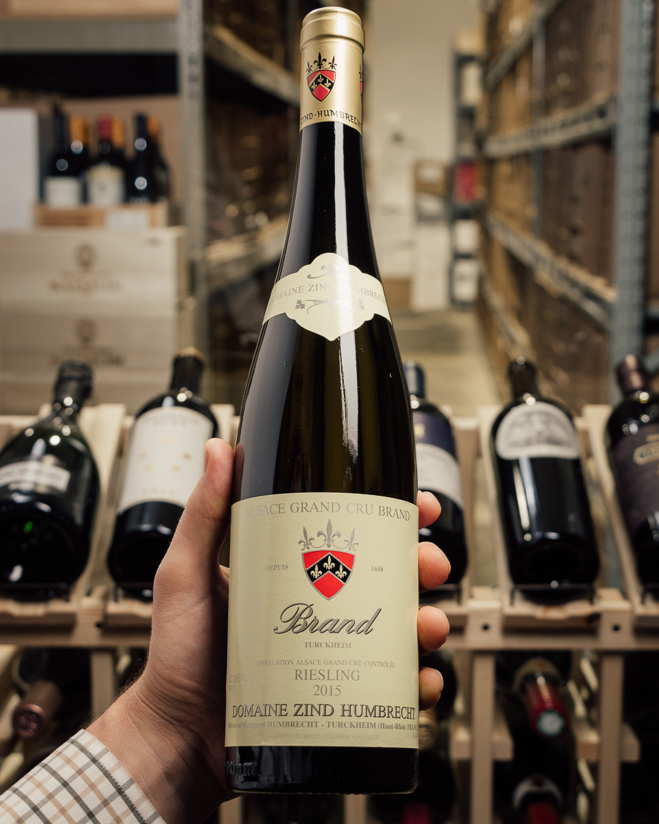 Domaine Zind Humbrecht Riesling Brand 2015  - First Bottle