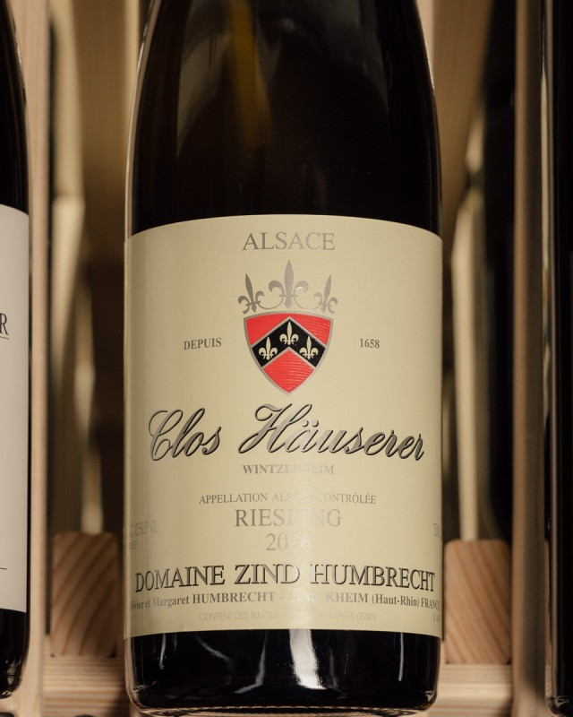 Domaine Zind Humbrecht Riesling (Dry) Clos Hauserer Grand Cru 2016