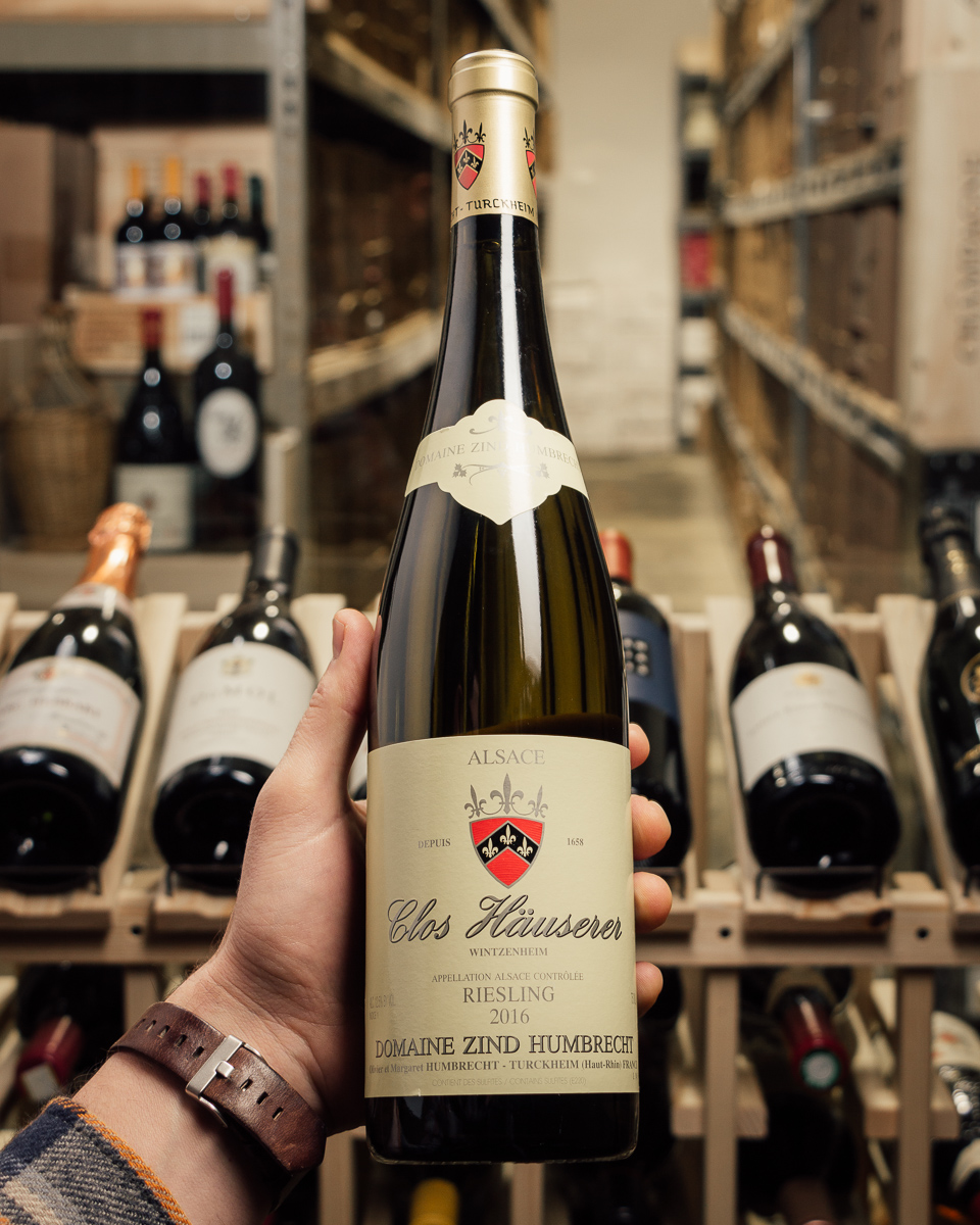 Domaine Zind Humbrecht Riesling Clos Hauserer 2016  - First Bottle