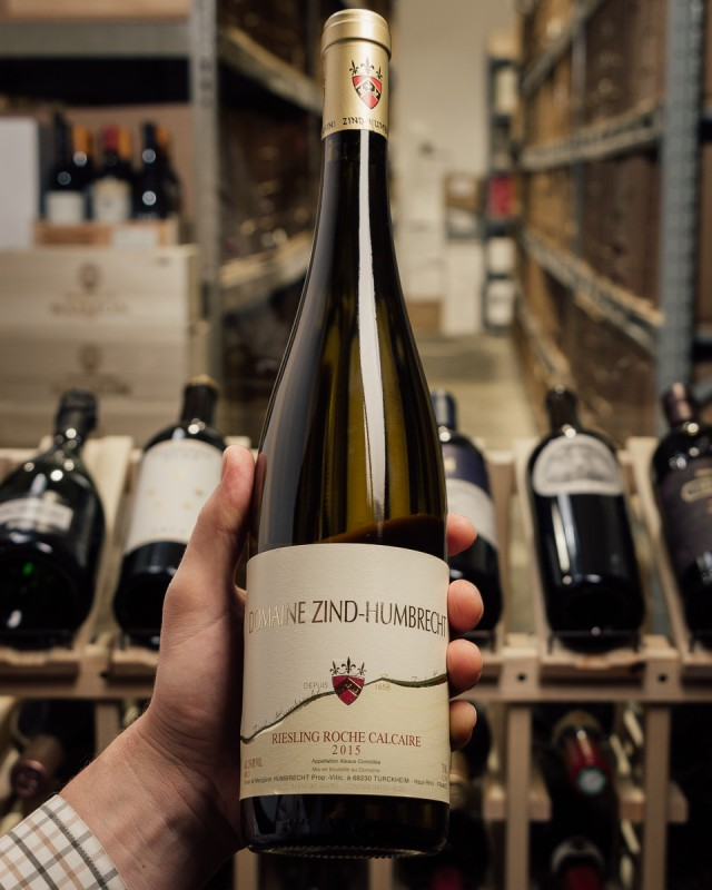 Domaine Zind Humbrecht Riesling (Dry) Roche Calcaire 2015  - First Bottle