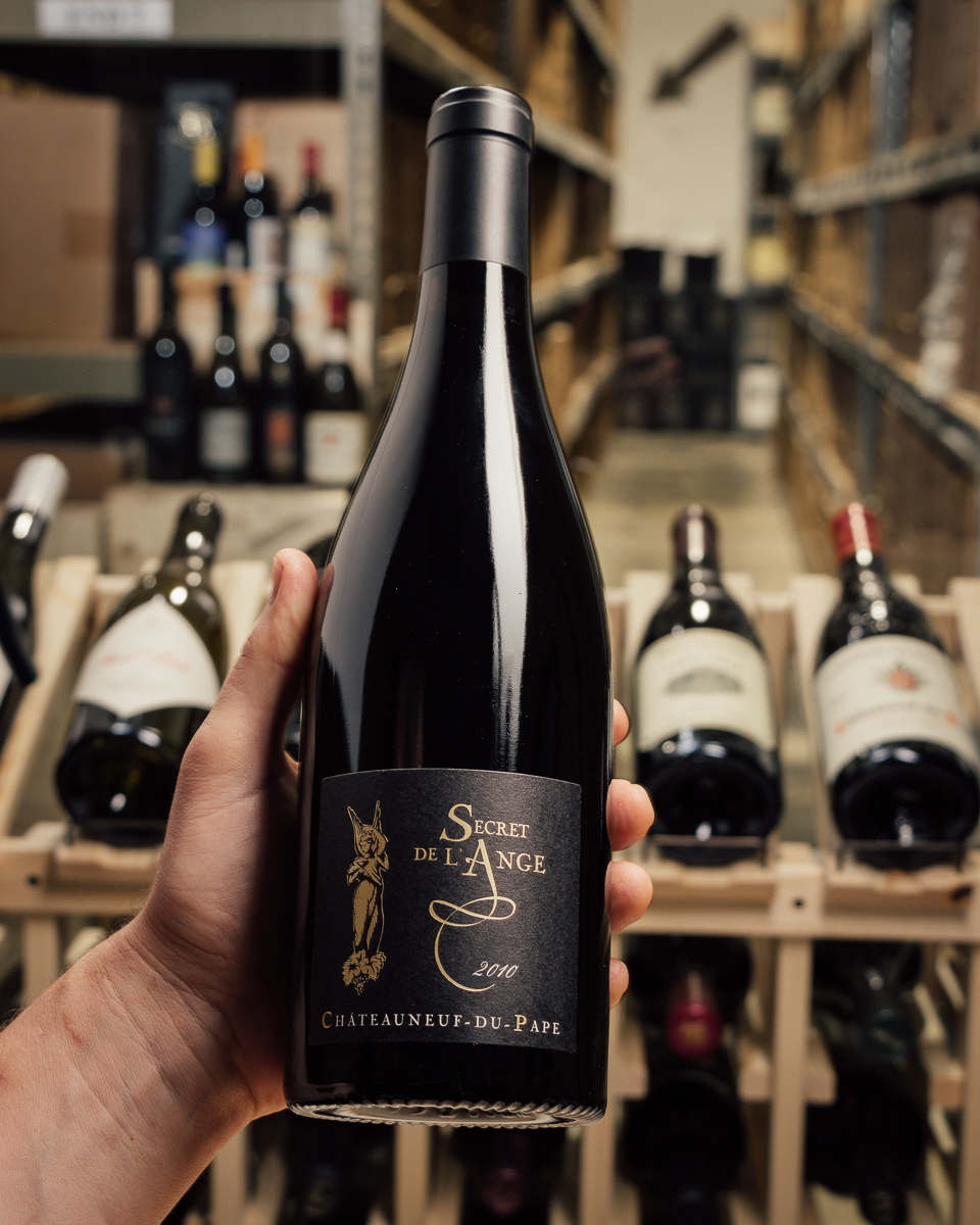 Domaine de la Cote de l`Ange Chateauneuf du Pape Secret`s Angel 2010  - First Bottle