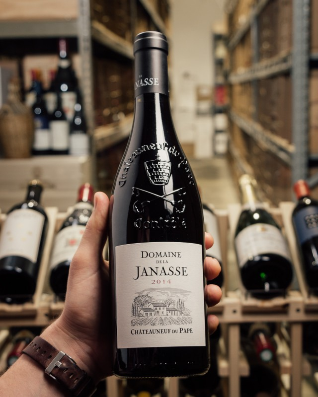 Domaine de la Janasse Chateauneuf du Pape 2014  - First Bottle