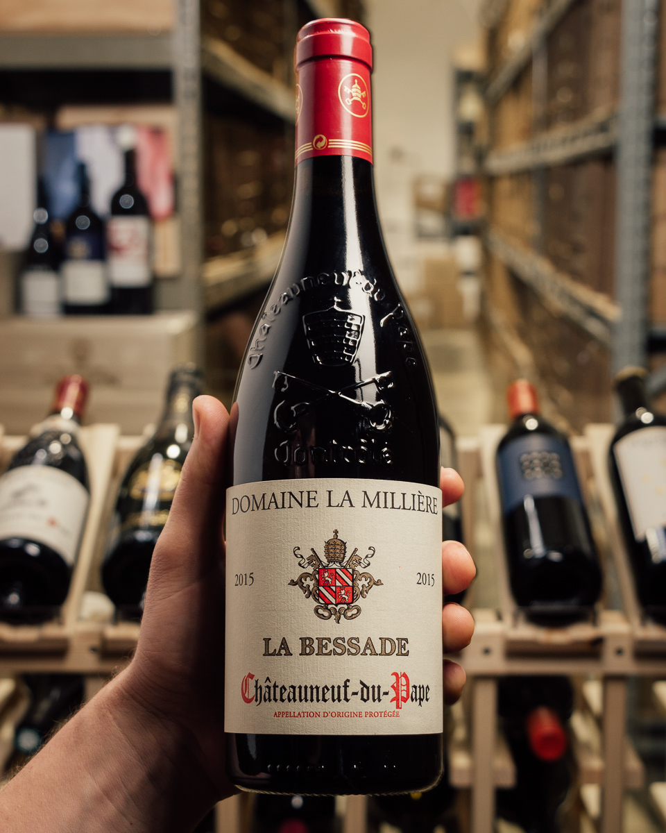 Domaine de la Milliere Chateauneuf du Pape La Bessade 2015  - First Bottle