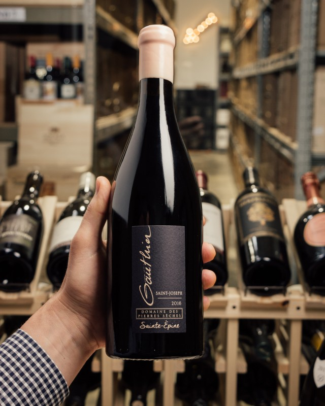 Domaine des Pierres Seches Saint-Joseph Sainte-Epine 2016  - First Bottle