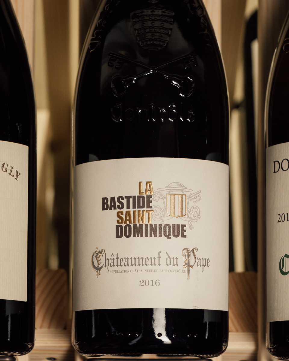 Domaine la Bastide Saint Dominique Chateauneuf du Pape 2016  - First Bottle