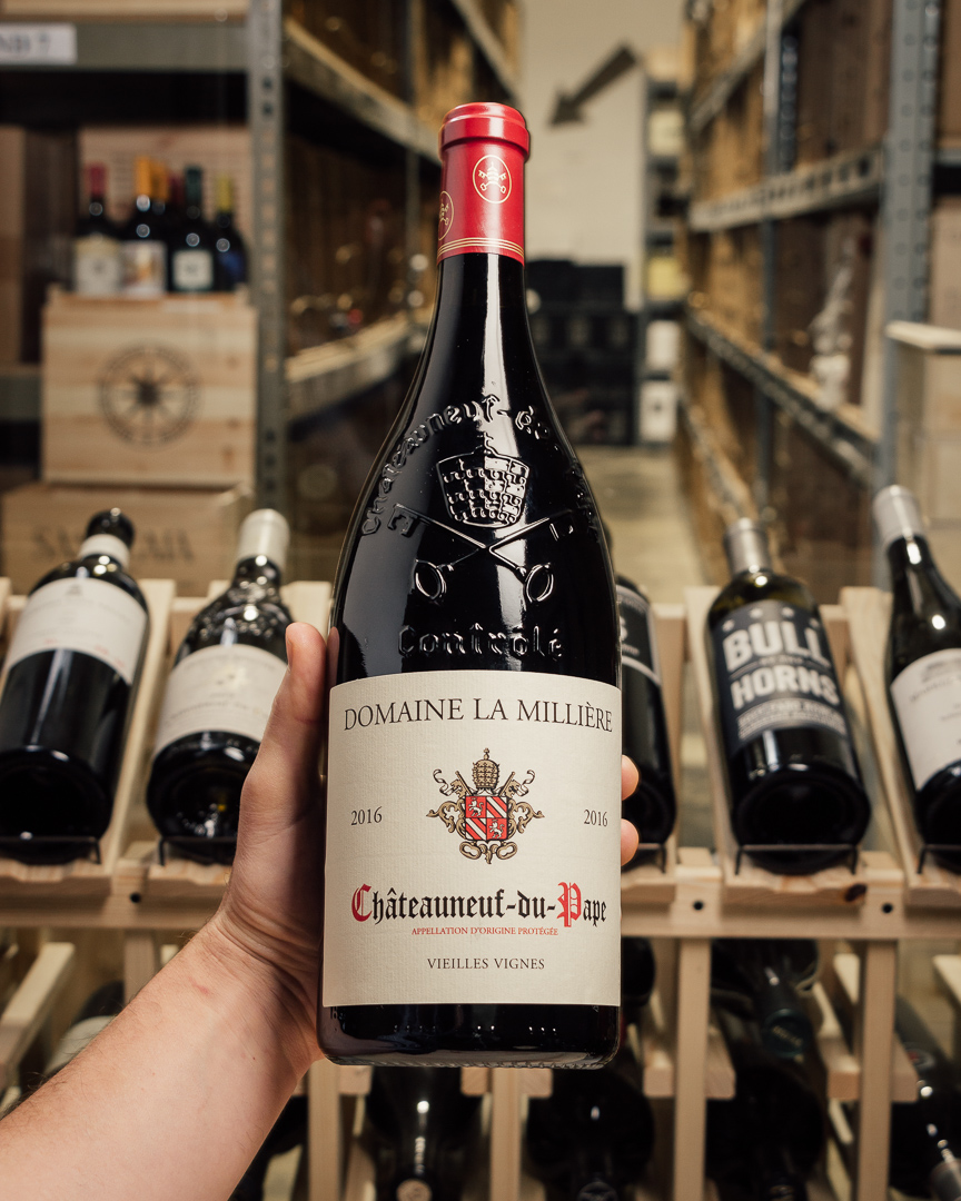 Domaine la Milliere Chateauneuf du Pape 2016 (1.5L)  - First Bottle