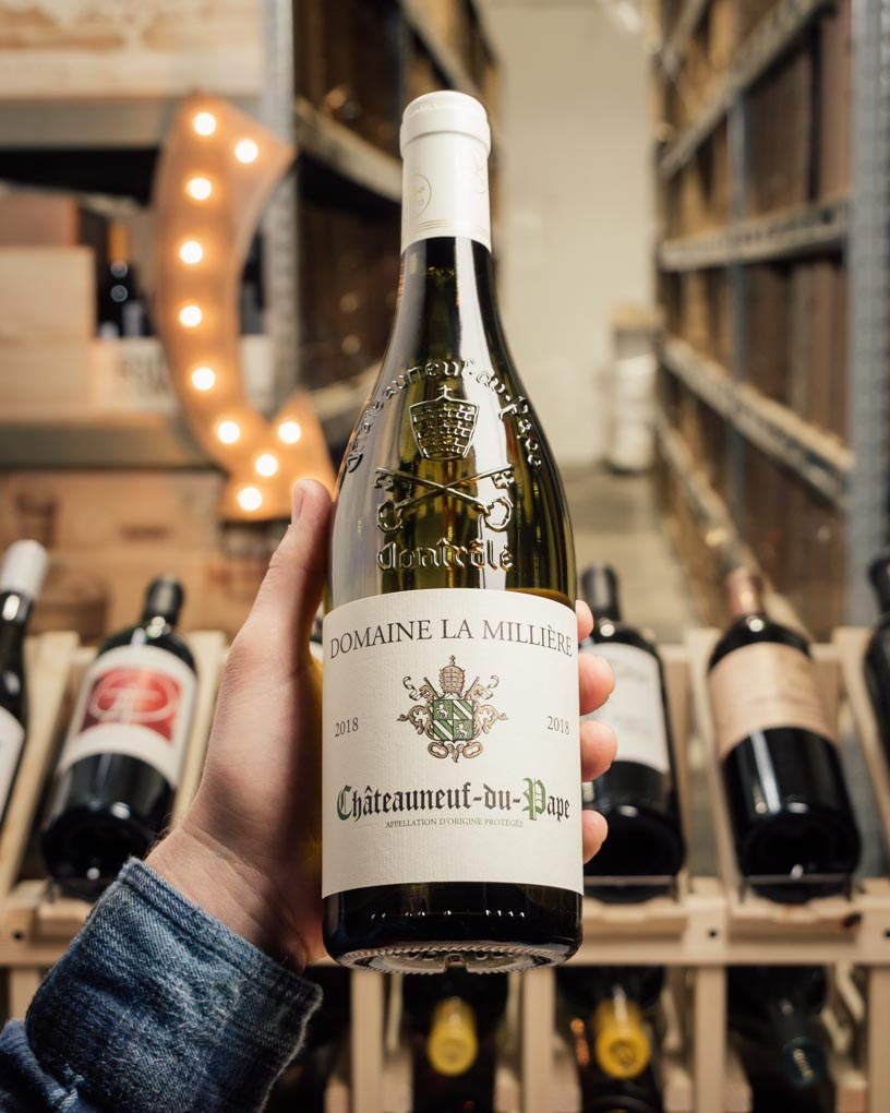 Domaine la Milliere Chateauneuf du Pape Blanc 2018  - First Bottle