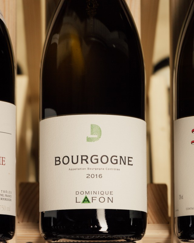 Dominique Lafon Bourgogne Blanc 2016  - First Bottle