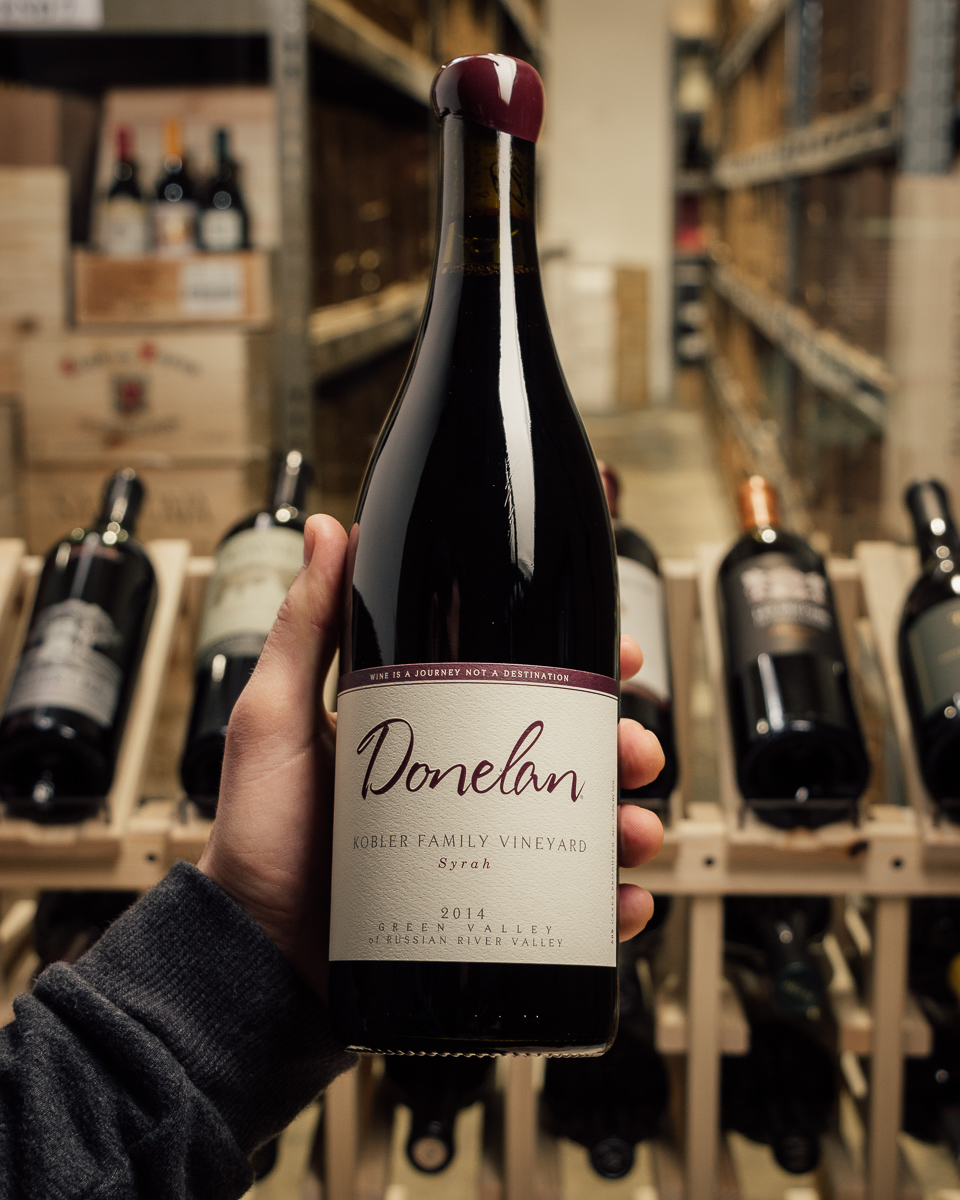Donelan Syrah Kobler Family Vineyard Green Valley 2014  - First Bottle
