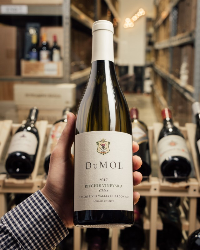 DuMOL Chardonnay Chloe Ritchie Vineyard 2017  - First Bottle