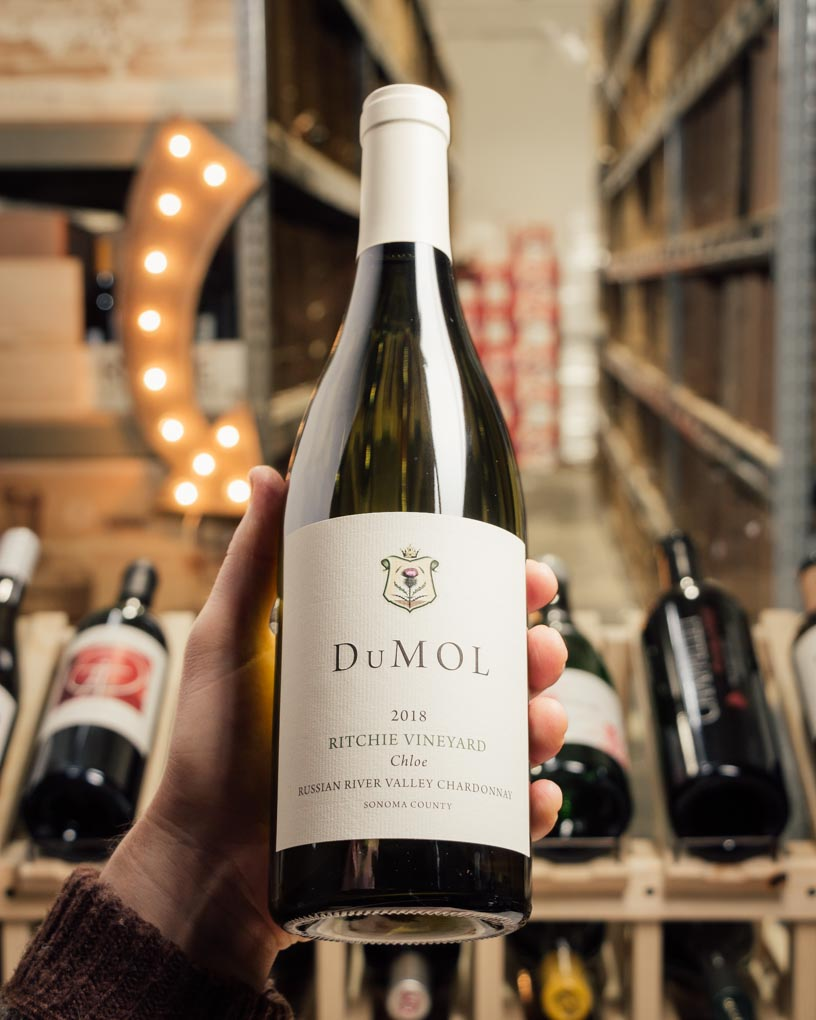 DuMOL Chardonnay Chloe Ritchie Vineyard 2018  - First Bottle