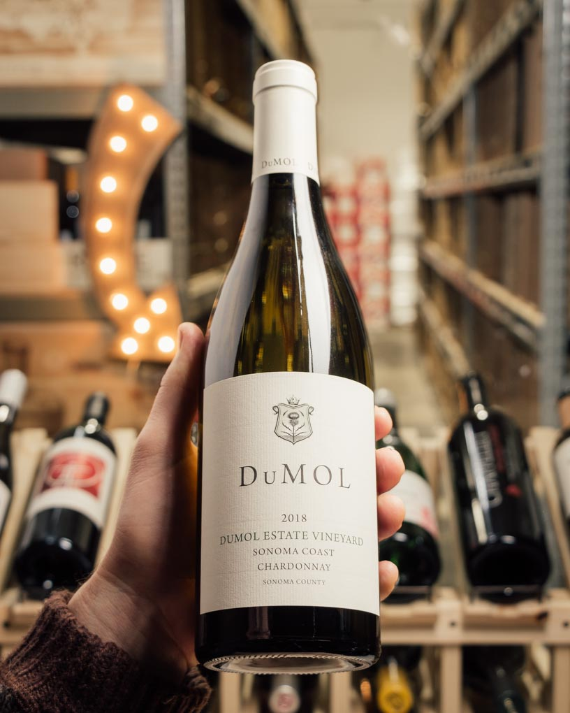 DuMOL Chardonnay Estate Vineyard 2018  - First Bottle