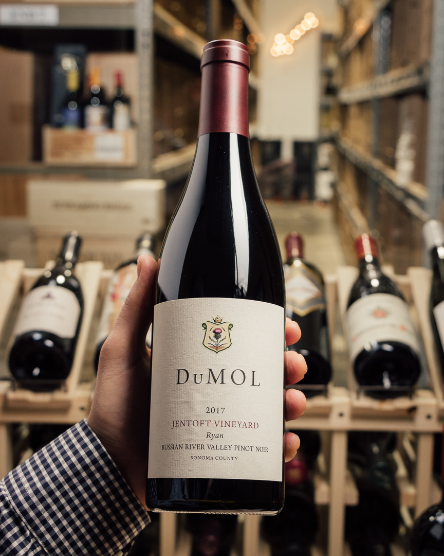 DuMOL Pinot Noir Ryan Jentoft Vineyard 2017  - First Bottle