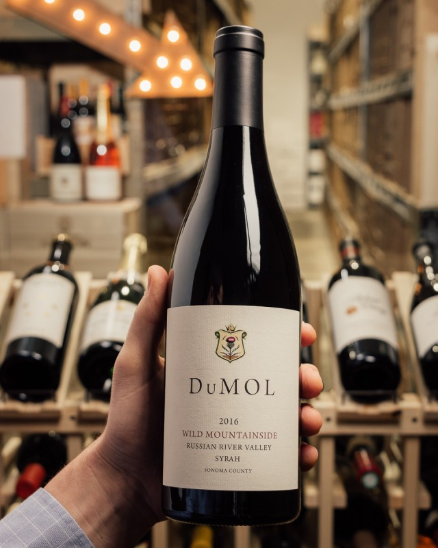DuMOL Syrah Wild Mountainside 2016  - First Bottle