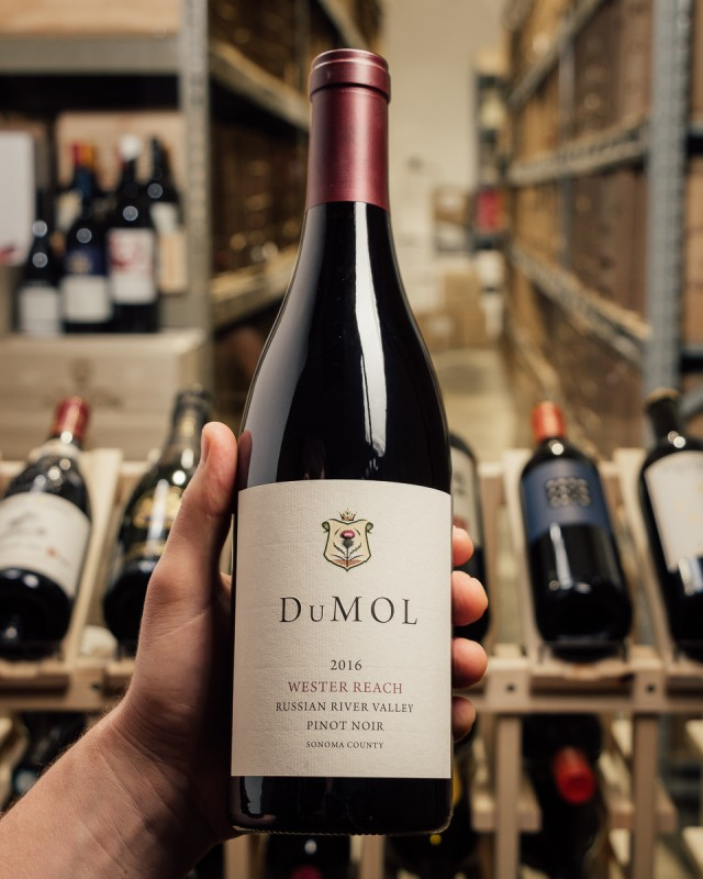 DuMOL Pinot Noir Wester Reach 2016  - First Bottle