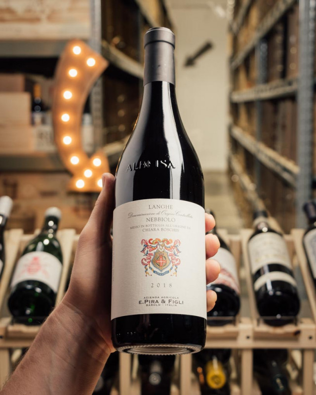 E. Pira Langhe Nebbiolo Chiara Boschis 2018  - First Bottle