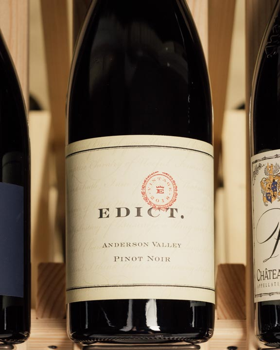 Edict Pinot Noir Anderson Valley 2018